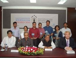 UNESCO Bangladesh Journalism Award Program 2011
